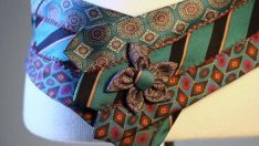 Evdeki kullanılmayan kravatları değerlendirelim