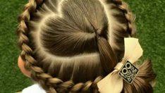 Kız Çocukları İçin Muhteşem Saç Modelleri
