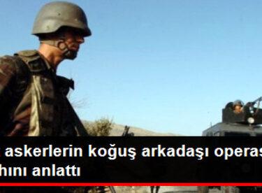 Şehit Askerlerin Koğuş Arkadaşı Operasyon Sabahını Anlattı
