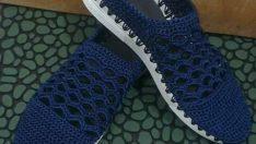 Örgü Ayakkabı Tarifi