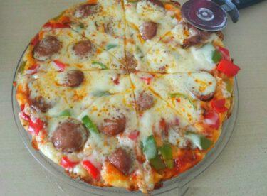 Tavada Pratik Pizza Tarifi
