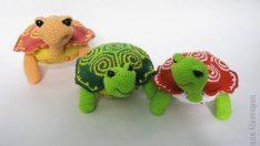 Evde Örgü Kaplumbağa Yapalım
