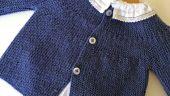 Bebek Ceketi Aşamalı Resimleri İle