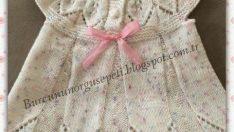 Örgü Bebek Elbisesi Tarifi – Resimli Aşamalı Anlatımlı