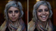 Bir Öğrenci İnsanlara 'Güzelsin' Denildiğinde İfadelerinin Nasıl Değiştiğini Fotoğraflamış