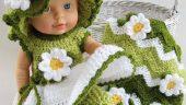 0-1 yaş arası bebekler için örgü elbise örnekleri