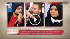 Zuhal Topal'ın evlendirme programında ilginç protesto!