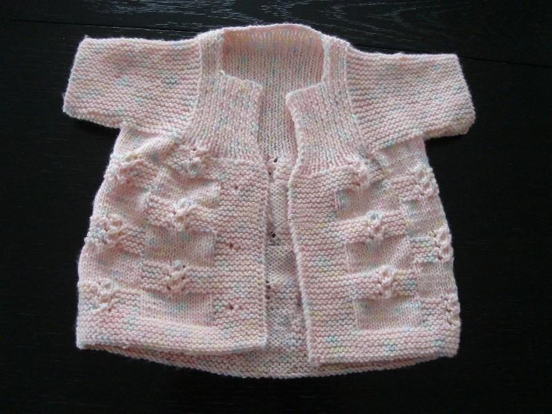 Tek Parça Kız Bebek Yeleği (2)