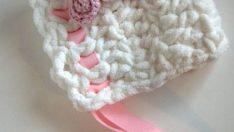 Yeni Doğan Bebek Şapkası