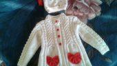Çocuklar için şahane örgü ceket örnekleri