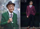 85 Yaşındaki Çiftçi Büyükbaba, Torunu Tarafından 'Baştan Yaratıldı' ve Bir Moda İkonuna Dönüştü!