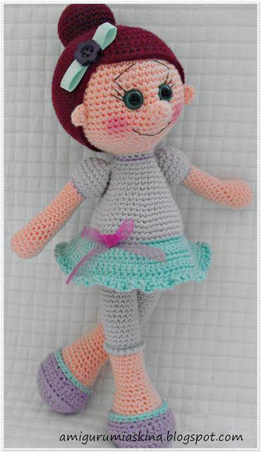 Amigurumi Balerin Bebek Yapılışı 20 - Mimuu.com | 640x370