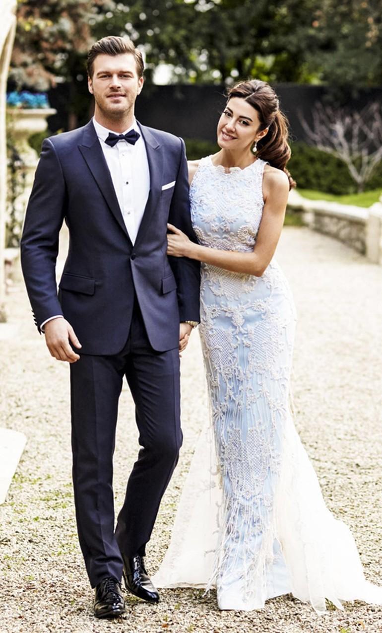 Kıvanç Tatlıtuğ Paris'te Başak Dizer'le evlendi (2)
