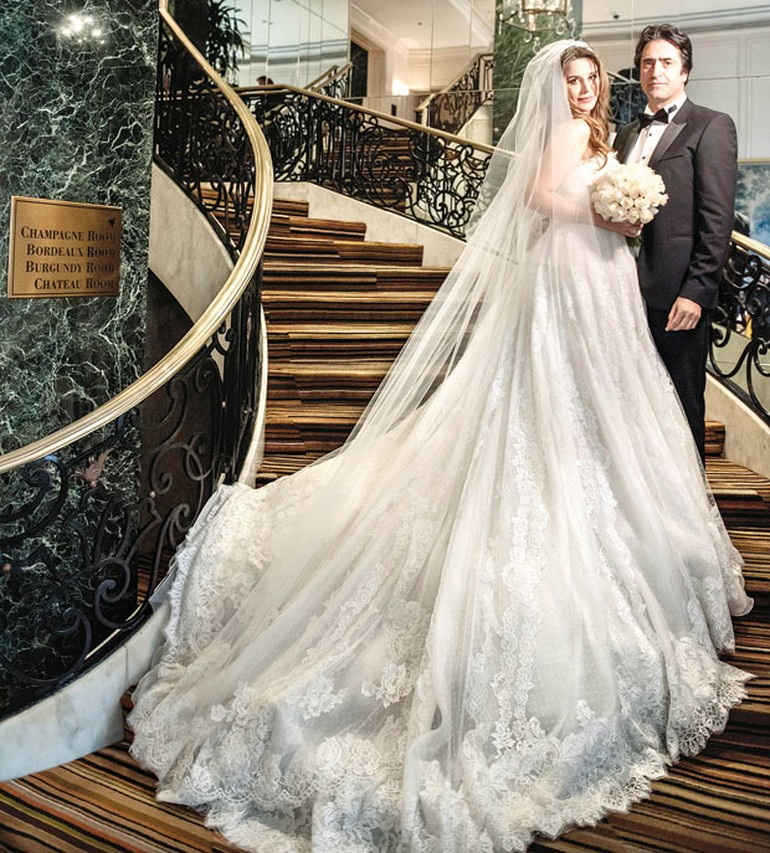Mahsun Kırmızıgül'ün düğünü