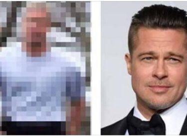 Ünlü aktör Brad Pitt'in son hali hayranlarını çok şaşırttı.