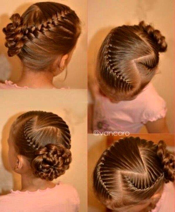 детские прически с косами видео