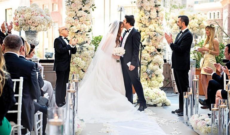 düğününde güldüren hata