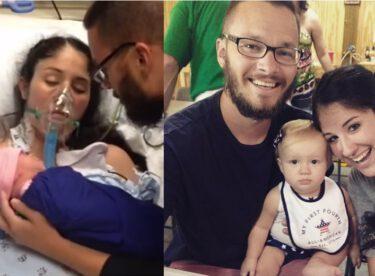 Komadaki kadın bebeğinin ağlamasını duyunca uyandı