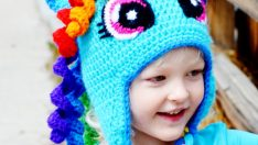 Örgü Çocuk Şapkaları