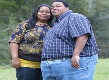 Obez çift aşkları uğruna zayıfladı