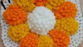 Ay Çiçeği Lif Modeli Yapılışı