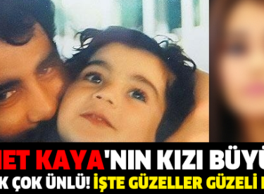 Ahmet Kaya'nın Minik Kızı Melis Büyüdü Ona Bir de Şimdi Bakın