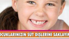 Çocuklarınızın Süt Dişlerini Sakın Atmayın