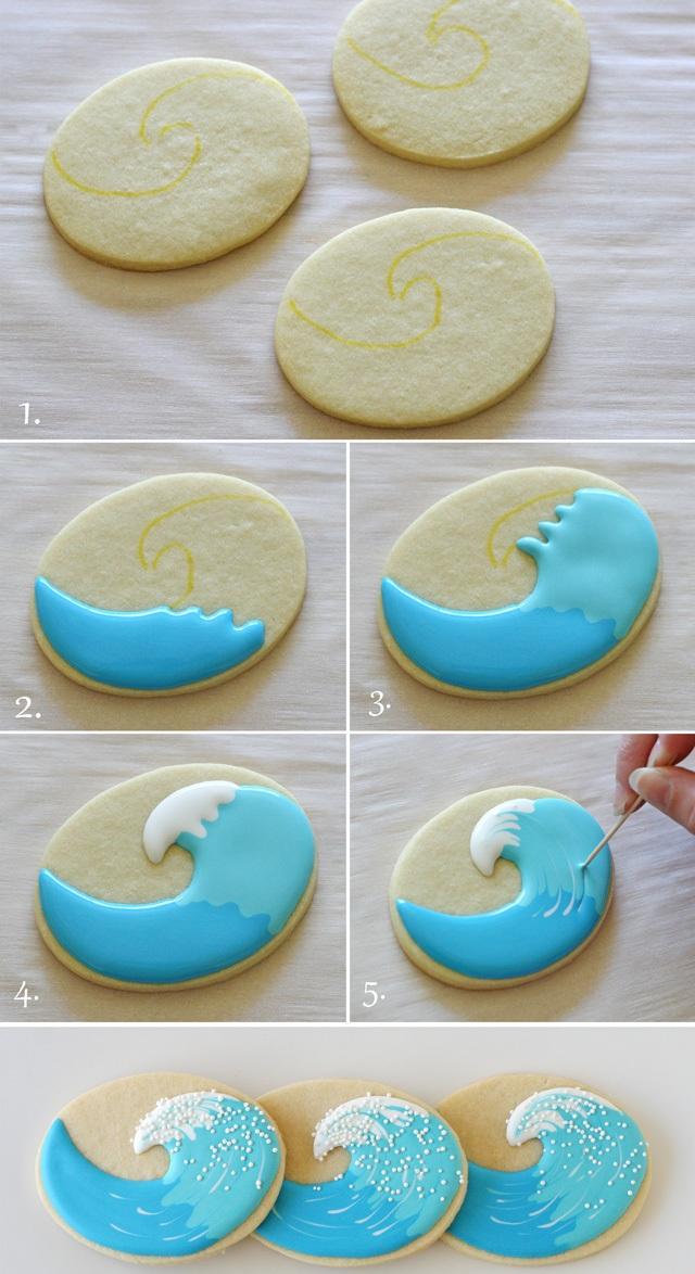 Печенья с глазурью в домашних условиях