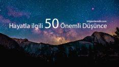 Hayatla ilgili Anlaman Gereken 50 Önemli Şey
