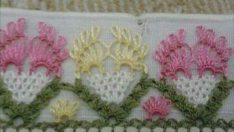 Yeni havlu dantelleri