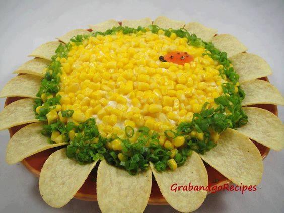 Салат соняшник фото