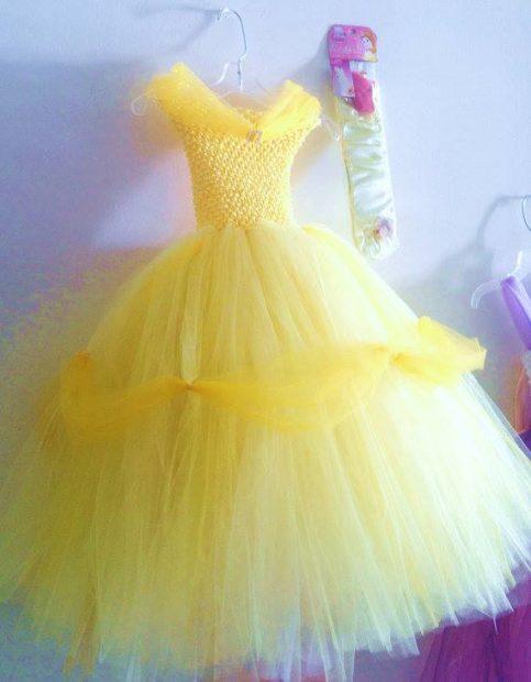 Платье из фатина просто своими руками