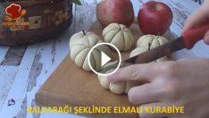 Bal kabağı Şeklinde Elmalı Kurabiye Nasıl Yapılır?