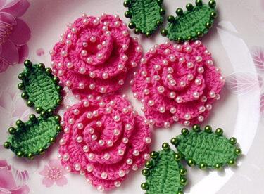 Boncuklu Harika Çiçekler