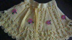 Kız Bebek Örgü Kıyafet Modası