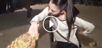 Arap Kızı Öyle Bir Oynadı ki Düğünde Herkes Onu İzledi