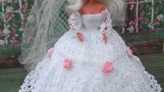 Örgü Barbi Bebek Giysileri