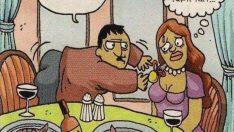 Evliliğin Komik Taraflarını Gösteren 14 Karikatür