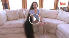 Anne Ve Üç Kızı Saçlarını Uzatırsa