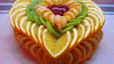 Meyve sunumları için şahane fikirler