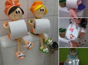 Tuvalet Kağıtları İçin Çılgın Ve Bir o Kadar da Şirin Fikirler