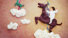 Annenin Minik Yavrusu İçin Yaptığı Fotoğraf Çekimi.Hepsi Birbirinden Şirin