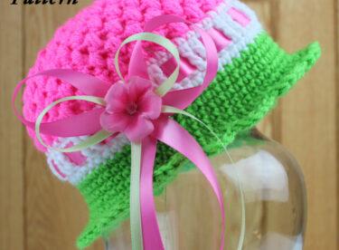 Kızlar için harika şapkalar
