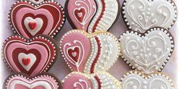 Şeker Hamurundan Harika Kalpli Kurabiyeler (Butik Kurabiyeler)