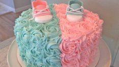 Bebek Figürlü Pasta Modelleri