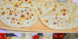 Ispanaklı Peynirli Gözleme