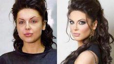 Öncesi & Sonrası 31 Makyaj Fotoğrafı
