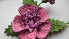 Harika çiçek motifleri