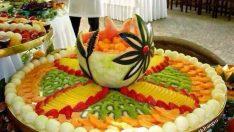 Sanatsal Meyve Sunumları Fikirleri
