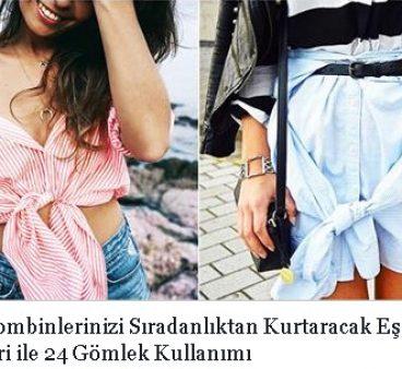 Basit Kombinlerinizi Sıradanlıktan Kurtaracak Eşsiz Stil Önerileri ile 24 Gömlek Kullanımı